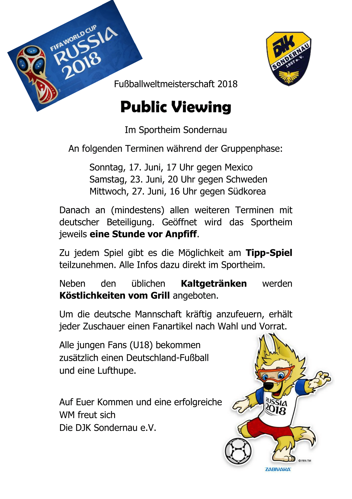Public Viewing WM Flyer 2018